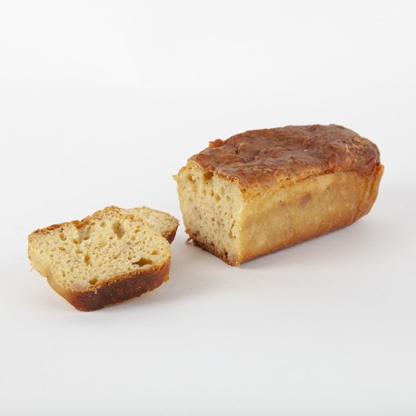 Cake lardons roquefort