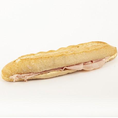Casse-croûte jambon beurre